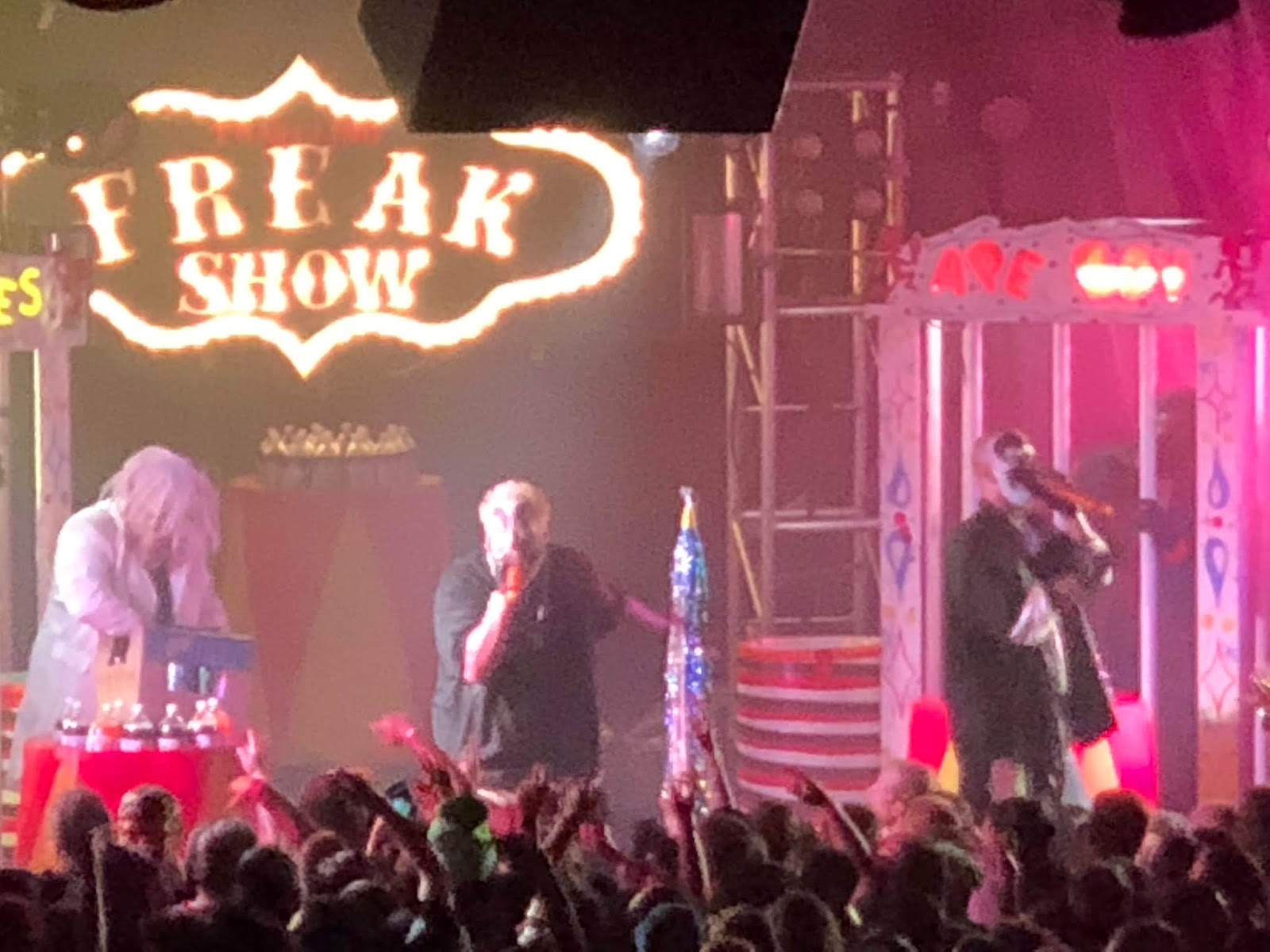 Insane Clown Posse At The Stampede In Aurora Co On 10 28 18 Old